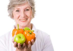 Полезные продукты для женщин в возрасте