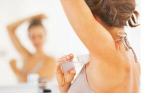 Опрелости кожи из-за чрезмерного выделения пота