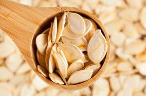 Растительный белок в семенах тыквы