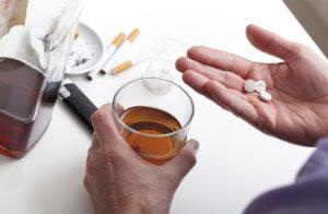 Вялость и заторможенность после совместного приема пива с феназепамом
