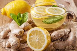Полезны напитки с имбирем для профилактики простуды