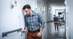 Посттравматический психический синдром или клаустрофобия