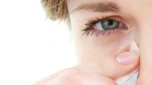 Боль, слезоточивость в глазах после сварки