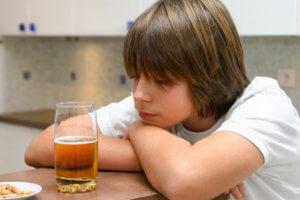 Последствия алкогольной зависимости в юном возрасте