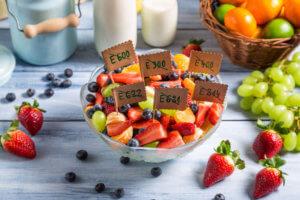 Виды пищевых добавок в пищевой промышленности