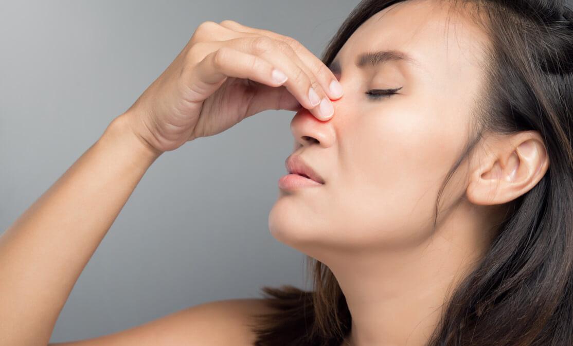 Трещины в носу как проявление ринита, синусита и герпеса