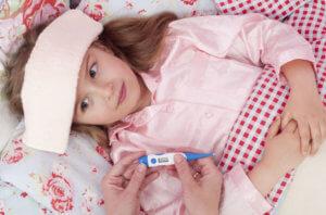 Повышенная температура тела и опасения родителей