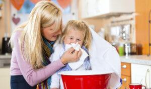 Борьба с ринитом у ребенка
