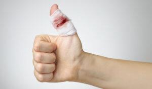 Глубокая рана пальца