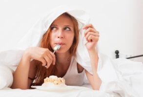 Уменьшение употребления количества еды