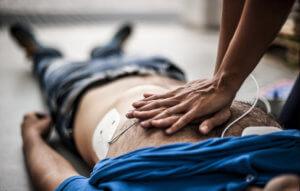 Клиническая смерть или отсутствие признаков жизни