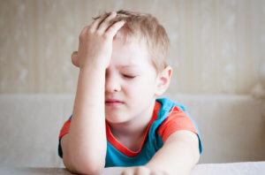 Кратковременные осложнения ЧМТ у детей