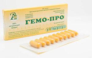 Гемо-Про с прополисом от простатита