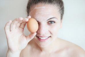Польза белка при уходе за кожей лица