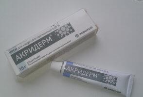 Отзывы об эффективности крема Акридерм