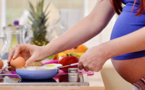 Приготовление полезных продуктов во время беременности