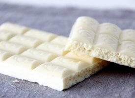 Витамины и минеральные вещества в белом шоколаде