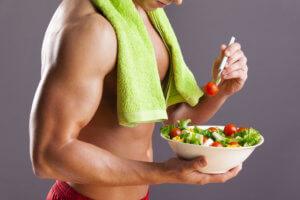 Режим питания спортсмена