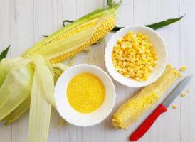 Этапы изготовления кукурузной муки