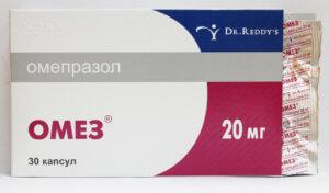 Лекарственное действие препарата Омез